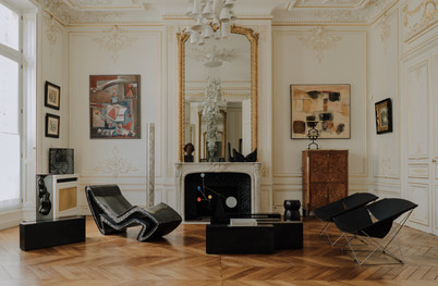 A INTERIOR PROJECT FOR A PRIVATE ROYAL CLIENT IN PARIS FRANCE