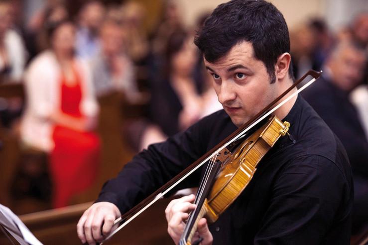 Hugo Méder, violon