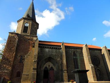Villedieu église façade sud