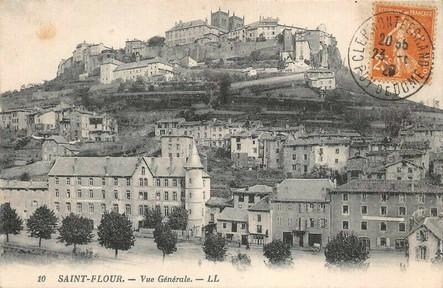 Faubourg Sainte-Christine et cathédrale de Saint-Flour