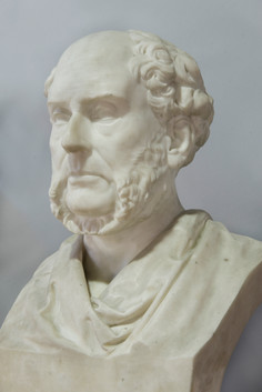 Marble bust of Archibald Alison