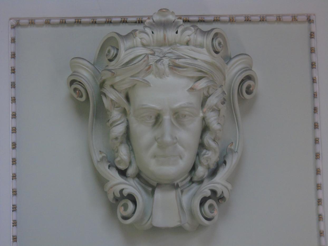Plaster head of John Millar
