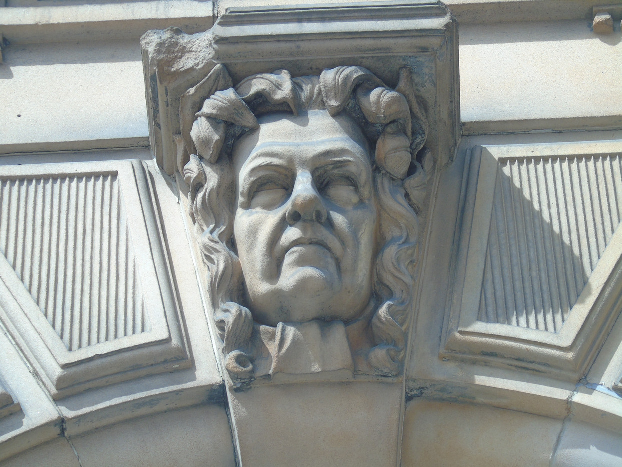 Keystone head of James Reddie