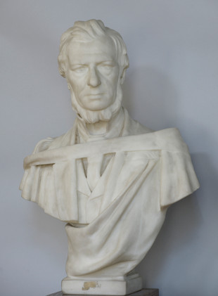 Marble bust of James Roberton