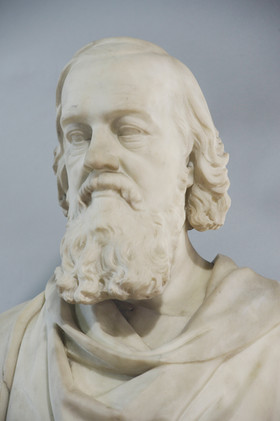 Marble bust of Adam Paterson