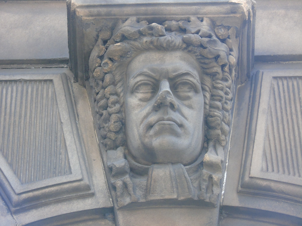 Keystone head of Henry Peter Brougham