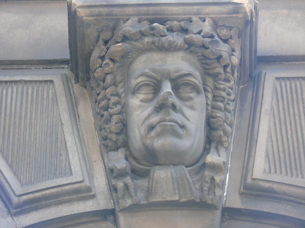 Keystone head of Henry Peter Brougham