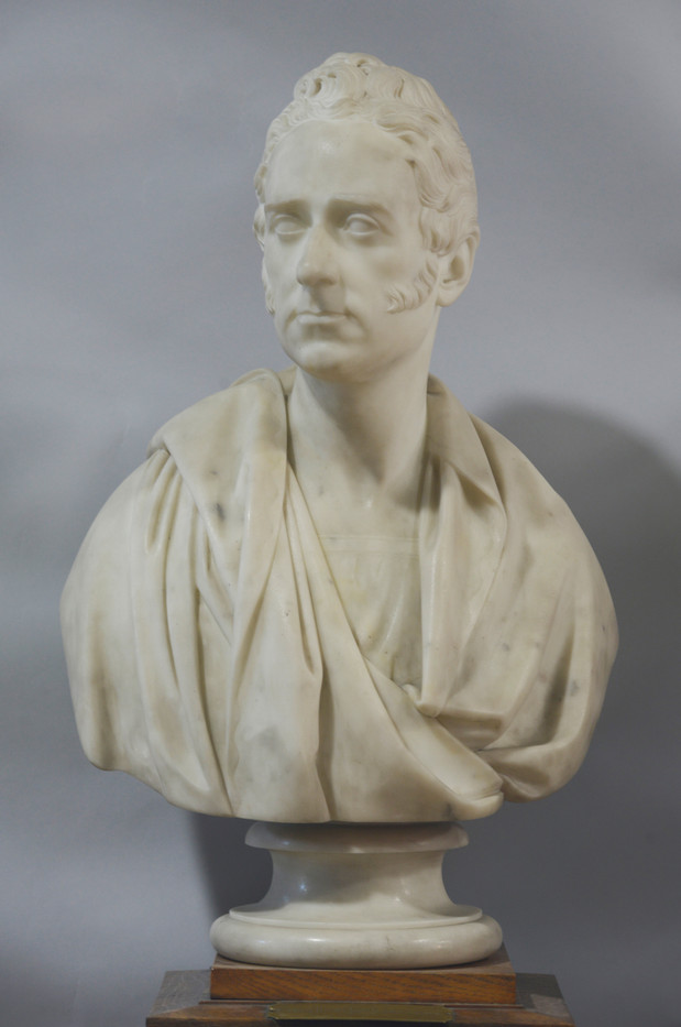 Marble bust of Francis Jeffrey