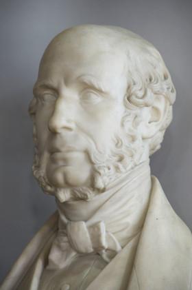 Marble bust of Robert Lamond