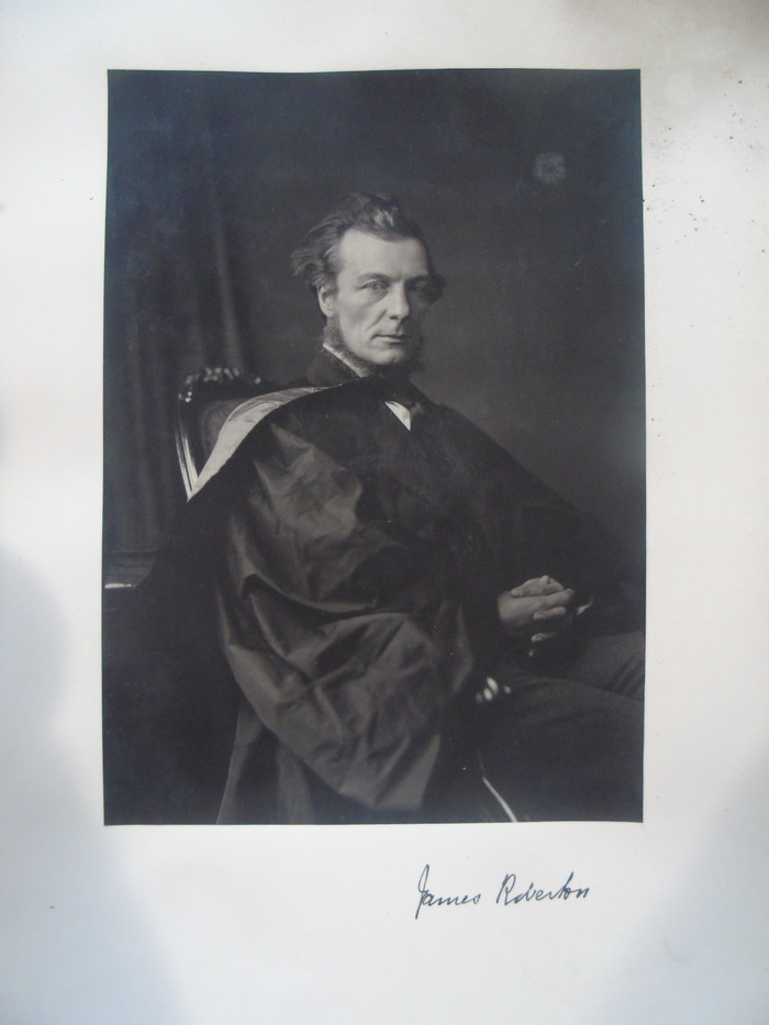 Photograph of James Roberton by Thomas Annan
