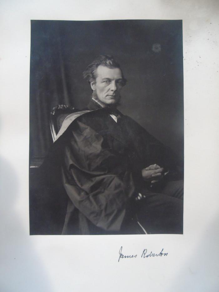 Photograph of James Roberton by Thomas Annan