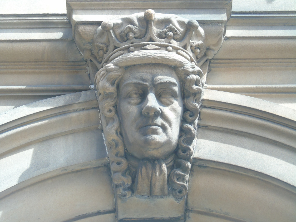 Keystone head of James Dalrymple
