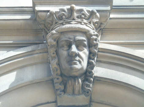 Keystone head of James Dalrymple
