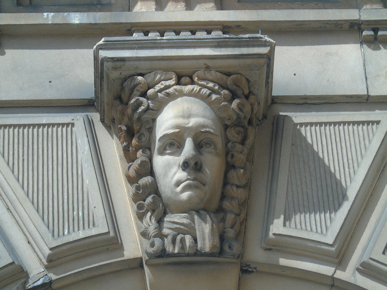 Keystone head of Henry Thomas Cockburn