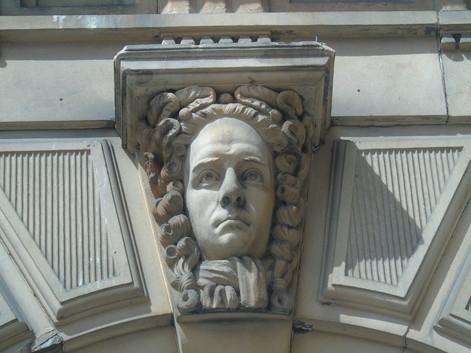 Keystone head of Henry Thomas Cockburn