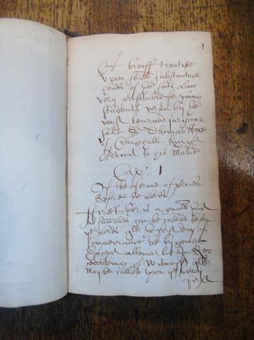 Hope's Minor Practicks, copied by William Skene in 1684