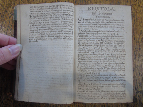 First page of the Explicatio