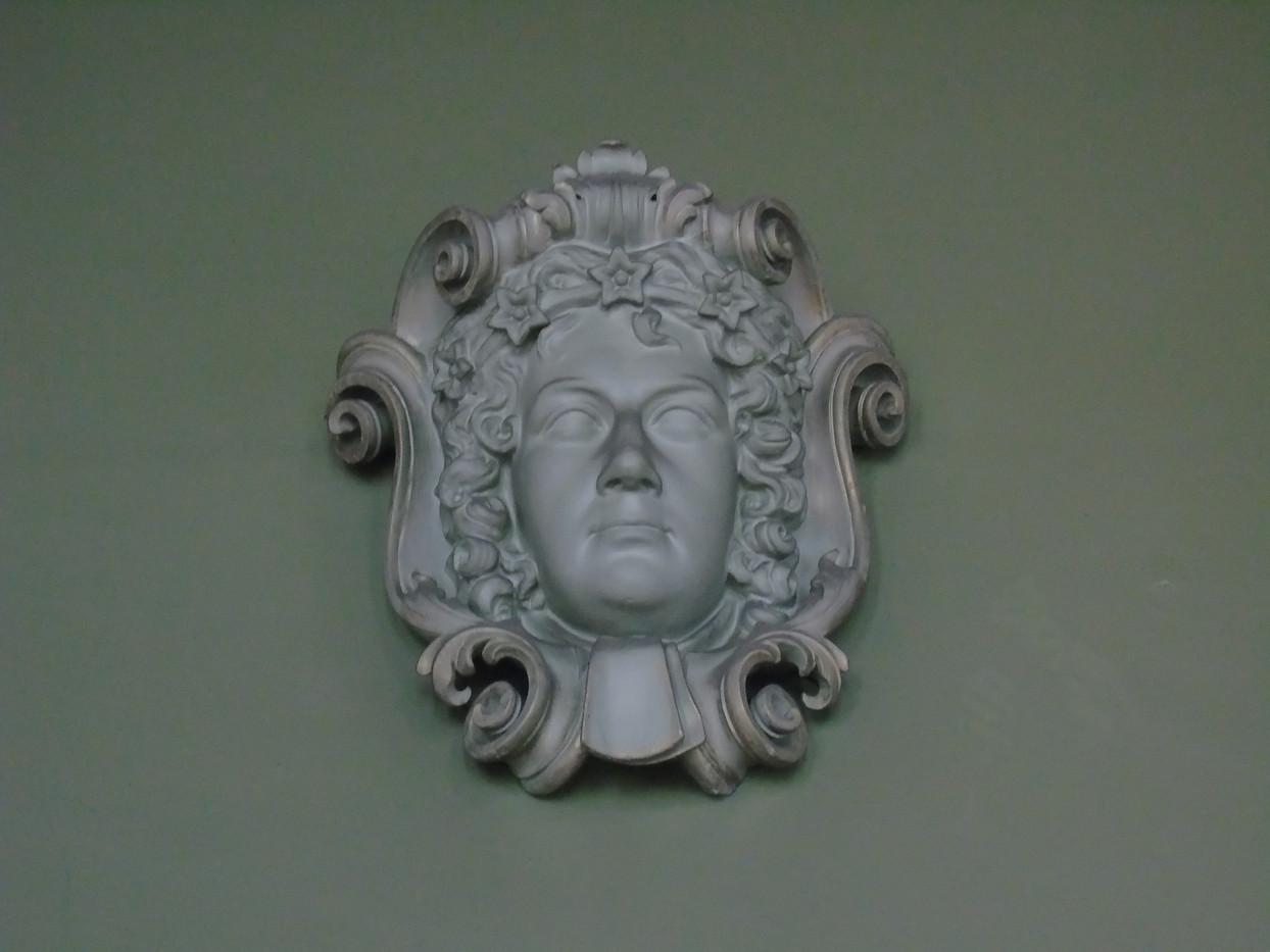 Plaster head of John Erskine