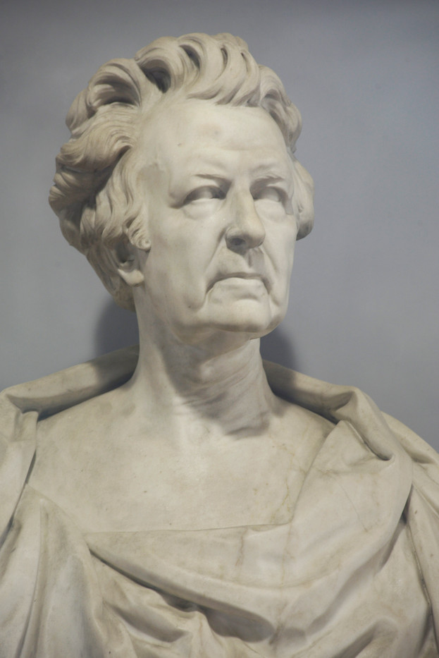 Marble bust of James Reddie