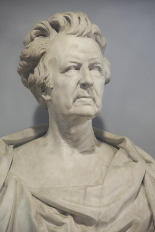 Marble bust of James Reddie