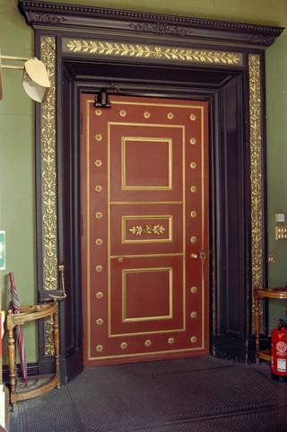 Door of the main library