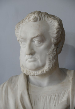 Marble bust of Andrew Bannatyne