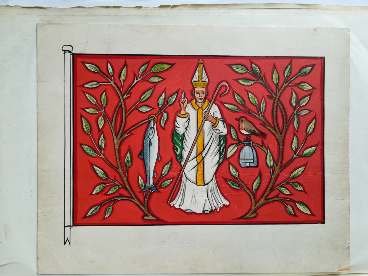 Design for the Royal Faculty's flag
