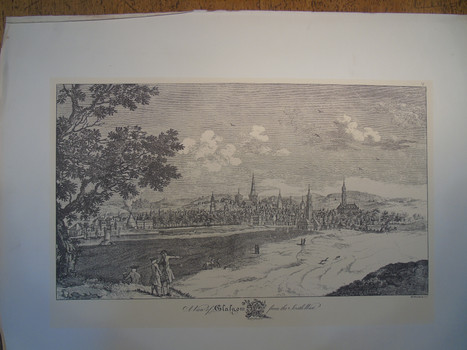 South West view of Glasgow from 1764