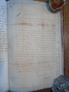 Letter from James VII to the Laird MacFarlane requesting military support