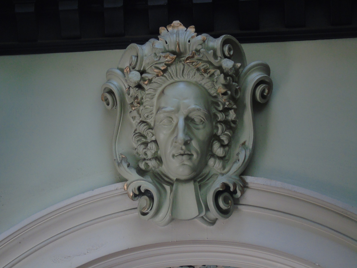 Plaster head of Duncan Forbes