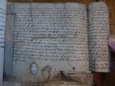 A letter from Mary, Queen of Scots to Duncan MacFarlane