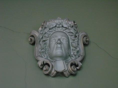 Plaster head of Francis Jeffrey