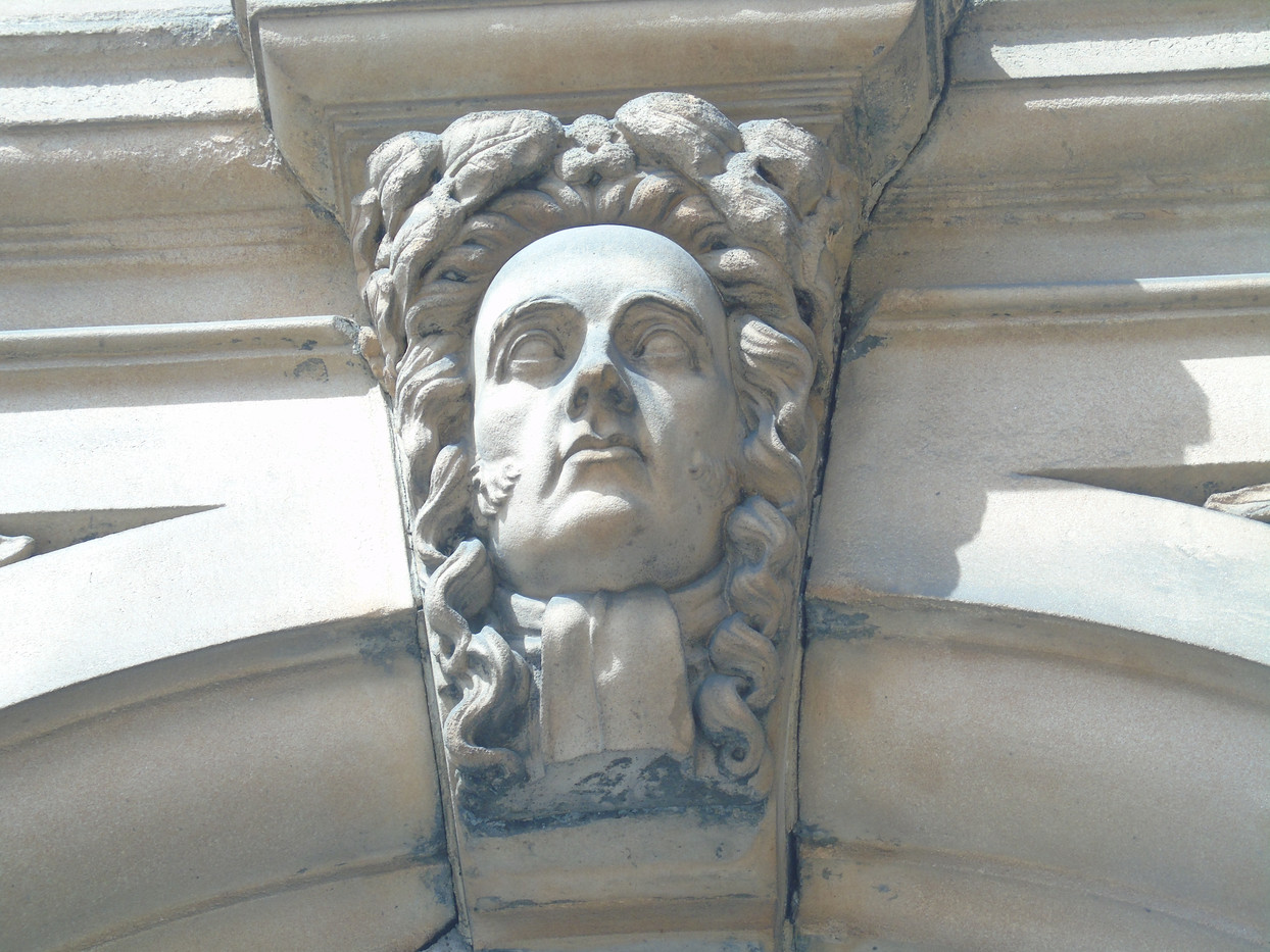 Keystone head of Francis Jeffrey