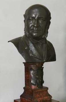 Bronze bust of Alexander Bennett McGrigor
