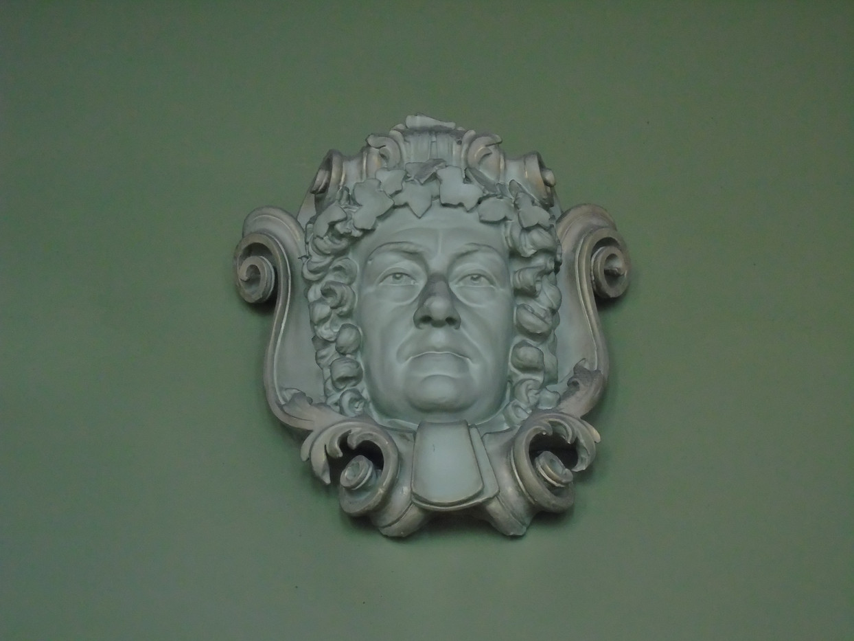 Plaster head of James Dalrymple