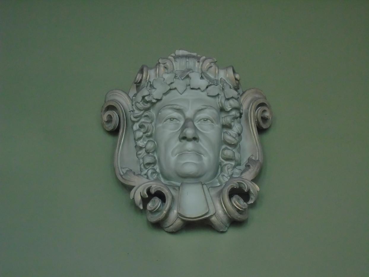 Plaster head of James Dalrymple