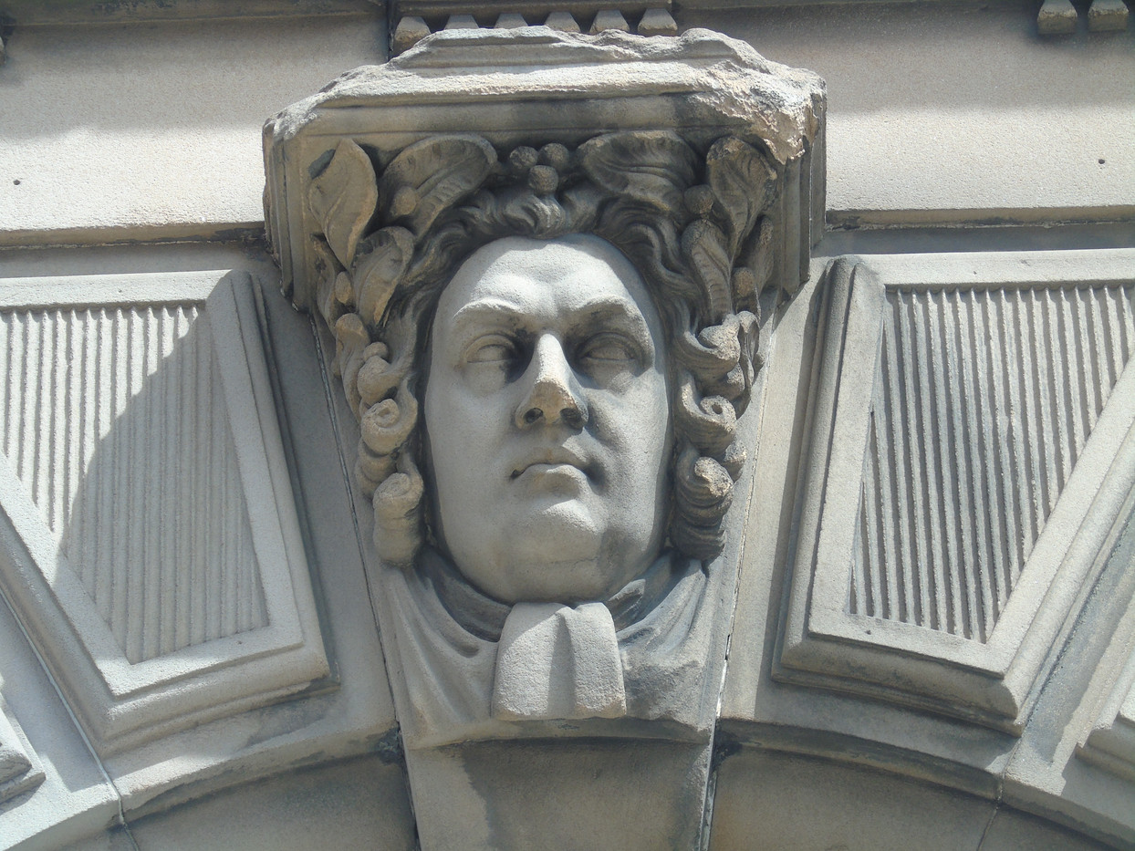 Keystone head of Robert Blair