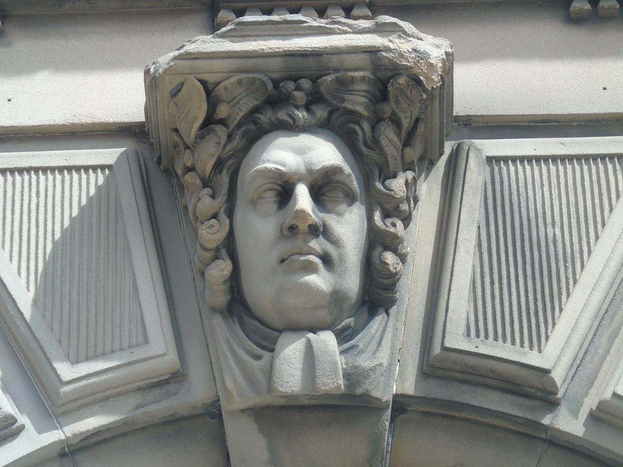 Keystone head of Robert Blair