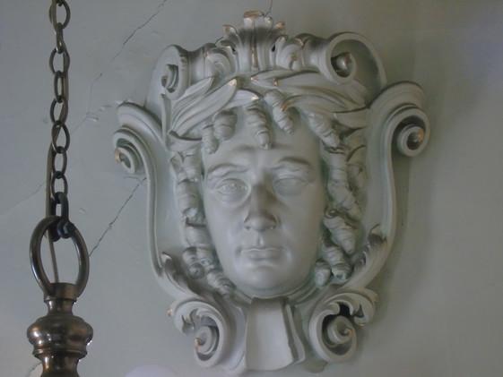 Plaster head of Thomas Erskine