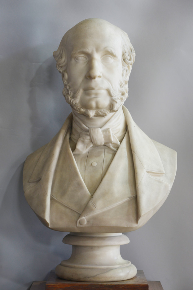 Marble bust of Robert Lamond