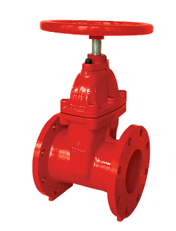 Ref. 201A/18 Resilient Seat Gate Valve Non Rising St Flanged End 200PSI UL/FM FS