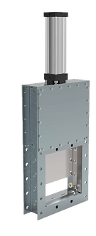 Ref. 870A/110 UNIDIRECTIONAL SEALING KNIFE VALVE