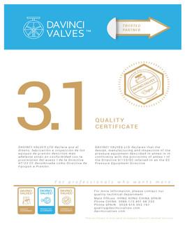 DAVINCI 3.1 Quality Certificate.jpg