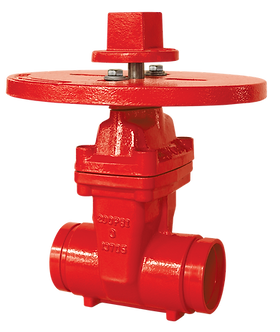 Ref. 241A/55 Resilient Seat Gate Valve with ISO Flang Top 300PSI C515 UL/FM FS