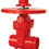 Thumbnail: Ref. 241A/55 Resilient Seat Gate Valve with ISO Flang Top 300PSI C515 UL/FM FS