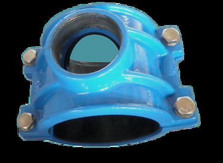 Ref. 600/71 Saddles for PVC/PE Pipe