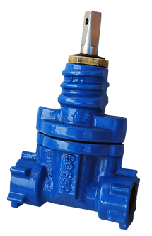Ref. 210A/13 RESILIENT SEAT GATE VALVE NP16 THREADED END