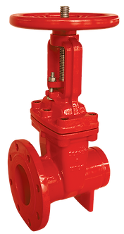 Ref. 261A/57 Resilient Seat Gate Valve Ris. St. Flang/Groove End 300PSI UL/FM FS