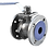 Thumbnail: Ref. 743/44 2 Piece Ball Valve Flanged End