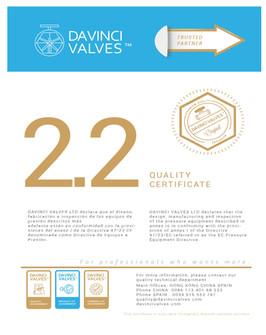 DAVINCI 2.2 Quality Certificate.jpg